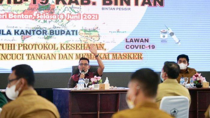 Sanksi bagi Warga yang Menolak Divaksin segera Disosialisasikan Pemkab Bintan