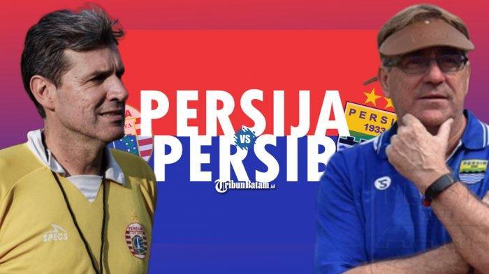 Head to Head Persija vs Persib Bandung, Robert Tak Mau Persib Kalah Lagi, Persija-Persebaya Itu Beda