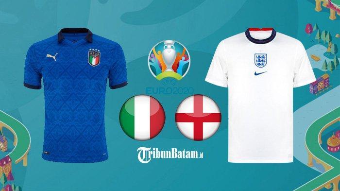 Final Piala Eropa 2020 Inggris vs Italia Kick Off 02.00 WIB, Ratu Elizabeth: Bawa Pulang Trofi Itu!