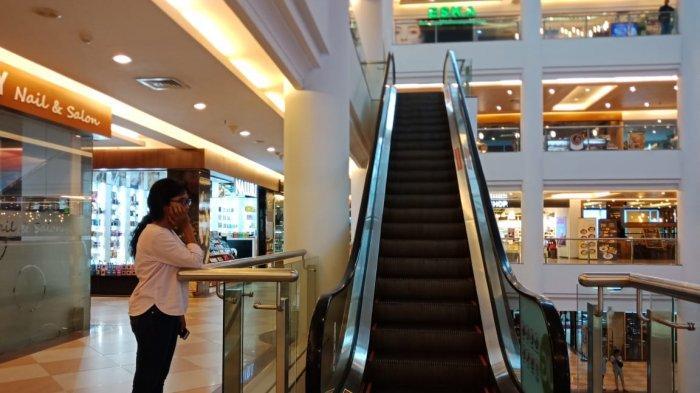 Eskalator di Mega Mall Batam Center Jepit Kaki Seorang Bocah Hingga Berdarah