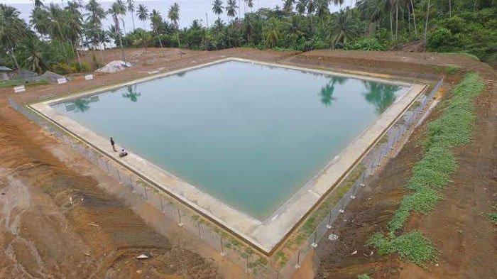 Atasi Krisis Air di Pulau Tiga, Pemkab Natuna Maksimalkan Fungsi Embung Sabang Mawang