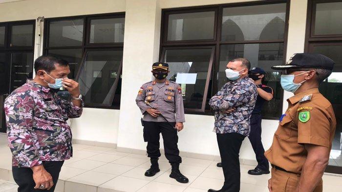Wabup dan Kapolres Natuna Pantau Asrama Haji, Antisipasi Lonjakan Pasien Covid-19