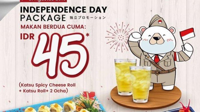 Selama Agustus, Ichiban Sushi Gelar Promo Kemerdekaan Makan Berdua Hanya Rp 45 Ribu
