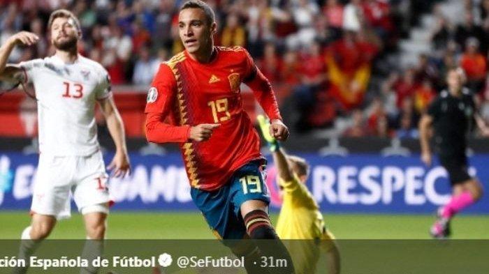 SESAAT LAGI Live Streaming Swedia vs Spanyol Kualifikasi Euro 2020 di Mola TV Mulai 01.45 WIB