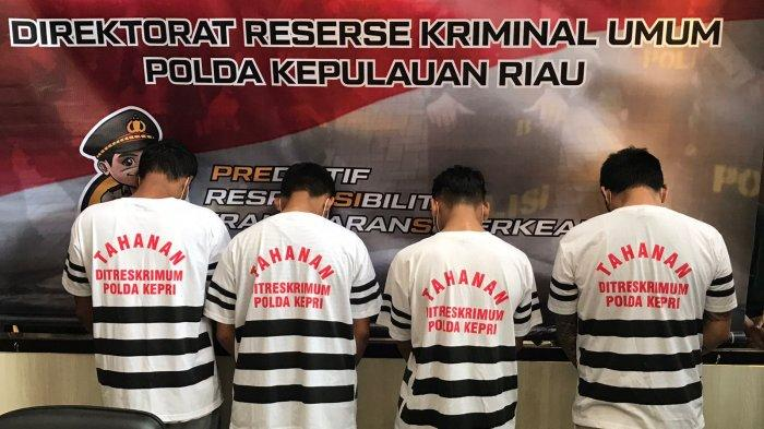 TAK Kapok Keluar Masuk Penjara, 5 Residivis Kasus Pencurian Ungkap Cara Mereka Beraksidi Batam