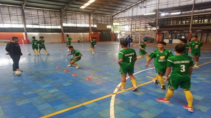 Laga Uji Coba di Tangerang, Tim Futsal Kepri Menang 10-7 atas IPC Pelindo