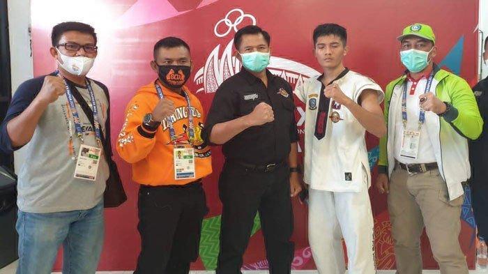 Atlet Tarung Derajat Kepri Lolos ke Final PON, Menang Lawan Petarung Sumbar