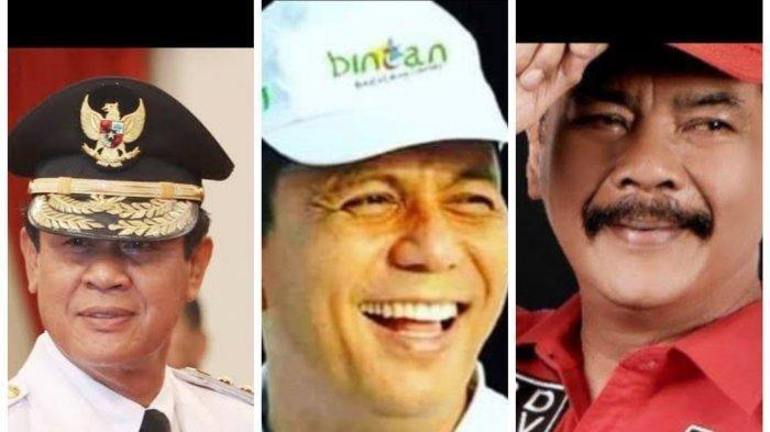 HASIL PILKADA KEPRI 2020 : Tiga calon Gubernur Kepri yang bertarung di Pilgub 2020, Isdianto, Ansar Ahmad dan Soerya Respationo