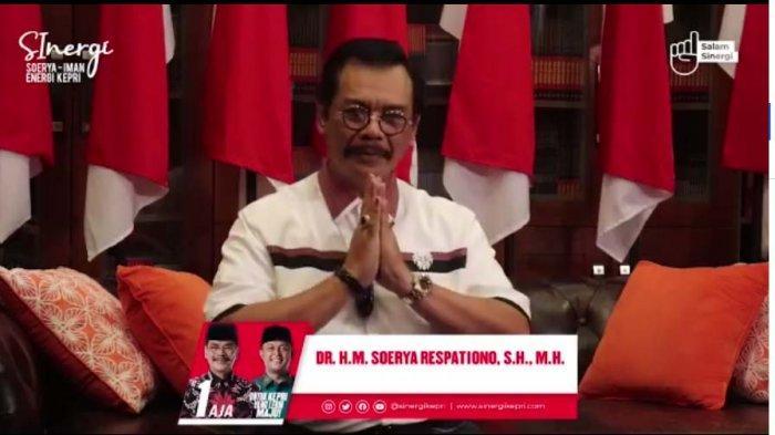 Hasil Quick Count Pilkada Kepri, Soerya Respationo: Kami Tunggu Hasil Resmi Pleno KPU Kepri