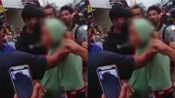 ASTAGFIRULLAH! Nenek Tua Diarak Keliling Pasar, Ada yang Sampai Teriak ' Bunuh Saja'