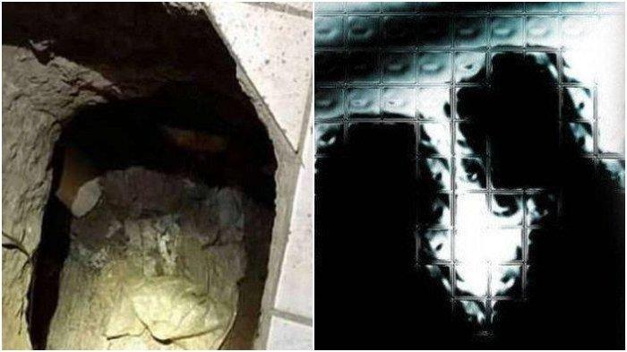 Terowongan yang digali Alberto untuk menemui selingkuhannya Pamela. - Ilustrasi selingkuh