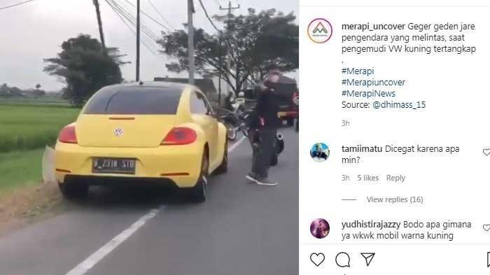 Mengungkap Sosok Pemilik Mobil VW Beetle Kuning yang Tabrak Polisi, Bukan Orang Sembarangan?