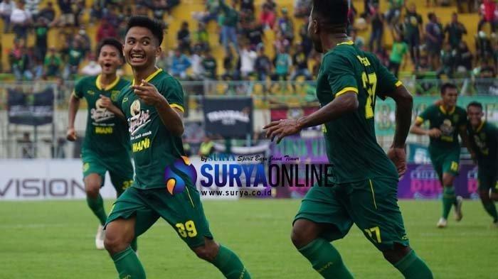 Hasil dan Klasemen Piala Gubernur Jatim 2020, Gilas Persik Kediri, Persebaya Surabaya Kokoh Dipuncak