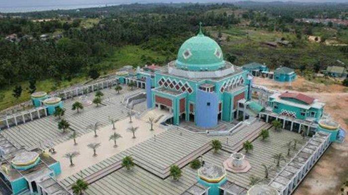 RAMADHAN 2021 di Masjid Agung Karimun, Tak Ada Buka Puasa Bersama