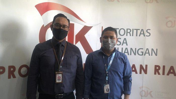 Silaturahmi Tribun Batam ke Kantor OJK Kepri, Kepala OJK Ingatkan Bahaya Fintech Ilegal