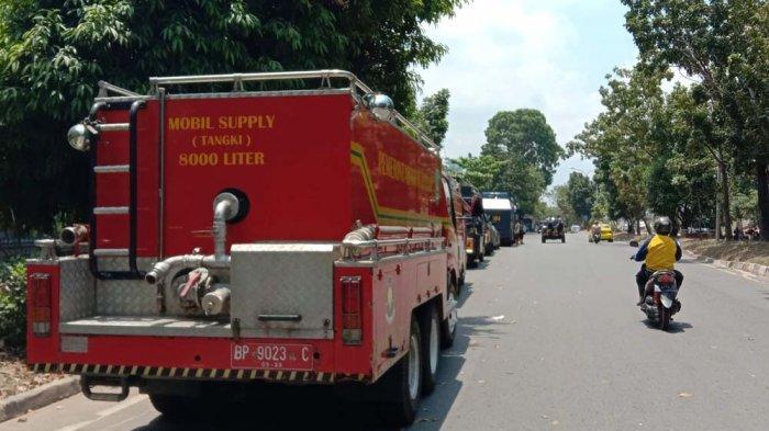 Tertibkan Pasar Induk Jodoh Batam, Tim Terpadu Juga Kerahkan Ambulance dan Pemadam Kebakaran