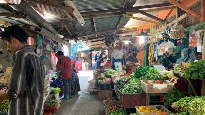 Daftar Harga Kebutuhan Dapur di Pasar Inpres Tarempa Anambas Jelang Ramadhan 2021