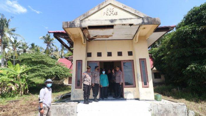 Wakapolda Kepri ke Lingga, Tinjau Pos Polisi di Pulau Berhala hingga Beri Bantuan Sembako