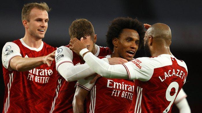 Hasil Arsenal vs West Brom, Willian Sumbang 1 Gol, Arsenal Menang, West Bromwich Degradasi