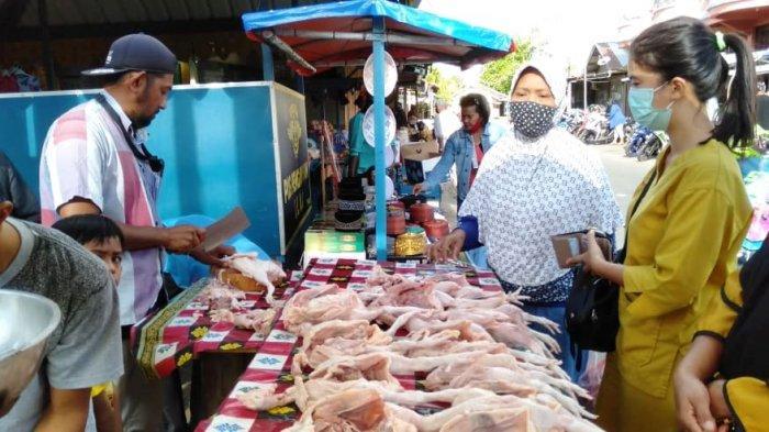 Harga Ayam Potong dan Daging di Lingga Merangkak Naik Jelang Lebaran, Ini Kisaran Harganya