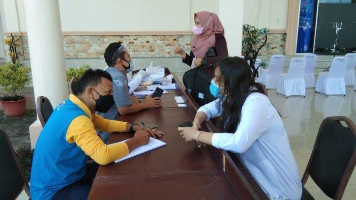 Empat Orang Reaktif Rapid Test Antigen saat Akan Hadiri Pemilihan Wawako Tanjungpinang