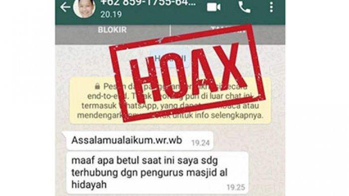 Heboh Pesan WhatsApp Pembagian Donasi Dari Pemkab Lingga, Neko Wesha Pawelloy: Hoaks