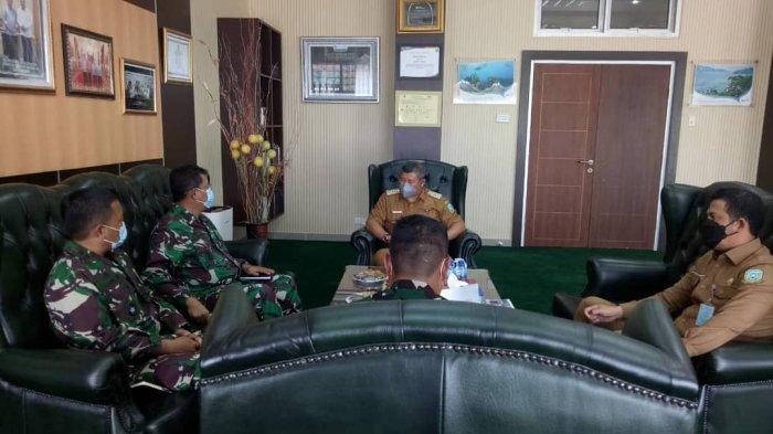 Tim Survey Karya Bakhti TNI AL Dispotmaral Datang ke Anambas