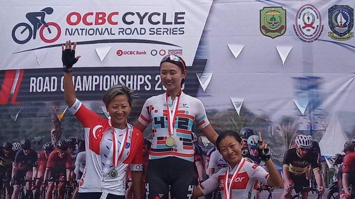 Singapura Gelar Kejuaraan Sepeda di Pulau Dompak, Tanjungpinang, Kadispora Pemprov Bangga