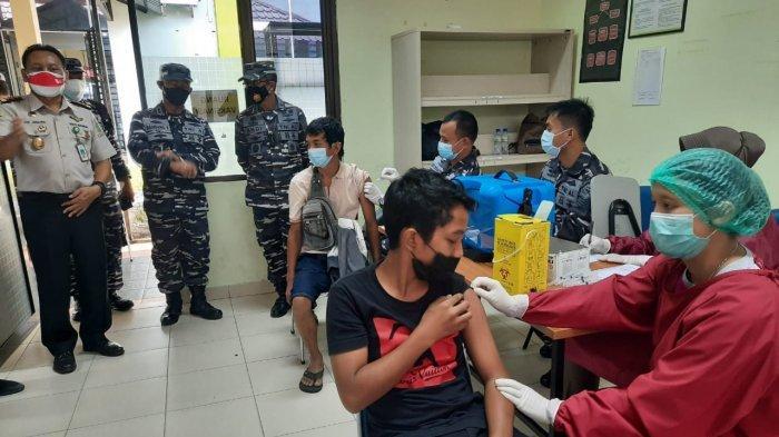 SEHARI 579 Orang Divaksin, Total 64,59 Persen Warga Tanjungpinang Sudah Vaksin Covid-19