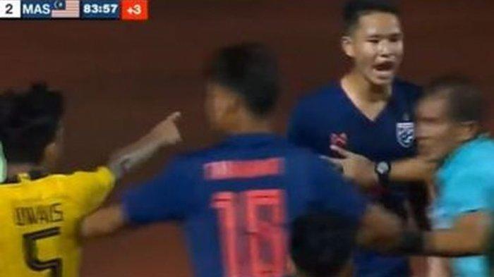 Final Piala AFF U15 Antara Thailand dan Malaysia Ricuh, Para Pemain Baku Pukul