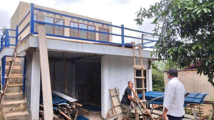2 Rumah di Tanjunguncang Batam Dihantam Puting Beliung, Jafar Kaget Usai Shalat Atap Rumah Hilang