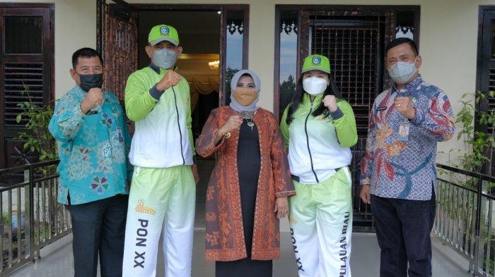 WALIKOTA Semangati Atlet PON XX Utusan Tanjungpinang