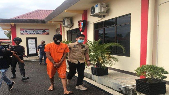 Rampok Rumah Teman, Joker Pria Bertato di Bintan Ditangkap Polisi