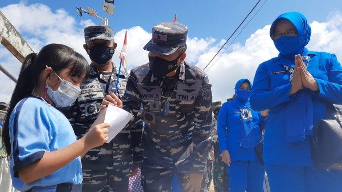 LANTAMAL IV Tanjungpinang Berhasil Vaksin Warga Pulau Limau, Sempat Kena Hoax Bahaya Vaksin