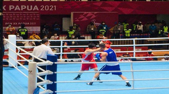 Tiga Petinju Kepri Gagal Raih Medali di PON XX Papua, Sisakan Sandy di Semifinal