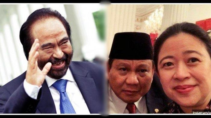 Pemilihan Presiden 2024, Surya Paloh Bakal Hadapi Duet Berat Prabowo-Puan Maharani?