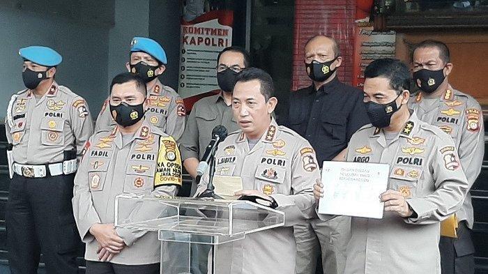 Tiga Anggota Polisi Ditetapkan Tersangka Penembak Mati 6 Laskar FPI
