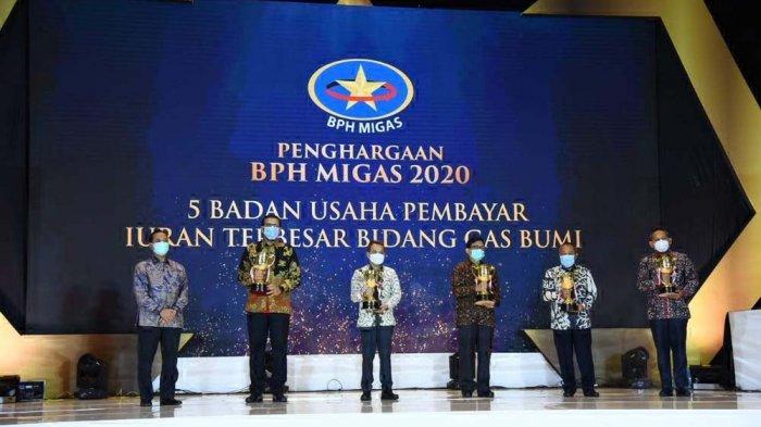 PGN Group Raih Penghargaan BPH Migas 2020 Atas Keberhasilan Pengelolaan Gas Bumi