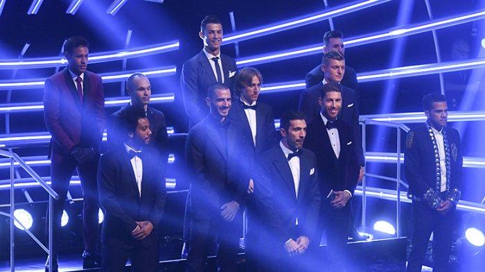 Dominasi Pemain Real Madrid. Inilah 11 Pemain Terbaik Dunia 2017. Adakah Idolamu?