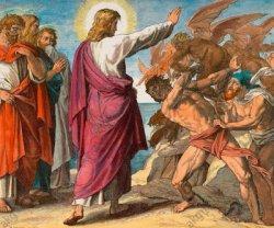 ILUSTRASI - Yesus mengusir roh jahat