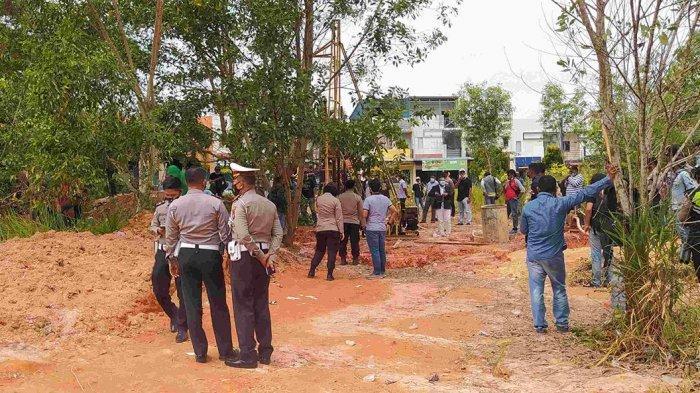 Dugaan Penganiayaan Pembangunan SUTT di Bandara Mas, Terlapor Mangkir Panggilan Polisi