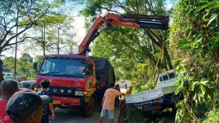 Kecelakaan di Batam, Truk Rem Blong di Yos Sudarso Batu Ampar