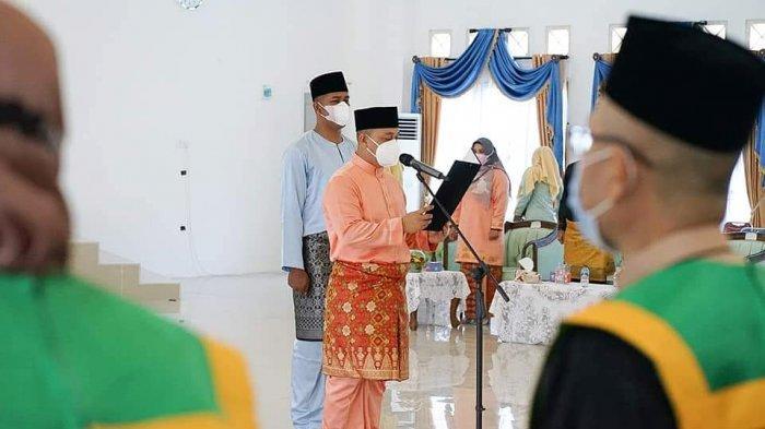 Bupati Lingga Muhammad Nizar Lantik 78 Dewan Hakim & Perangkat untuk STQ Kabupaten Lingga