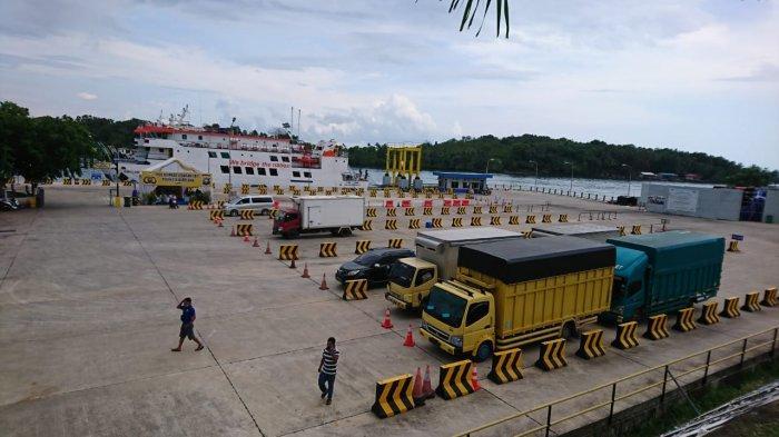 Pelabuhan Roro Telaga Punggur Batam Terimbas Larangan Mudik, Sehari Hanya 5 Trip Kapal