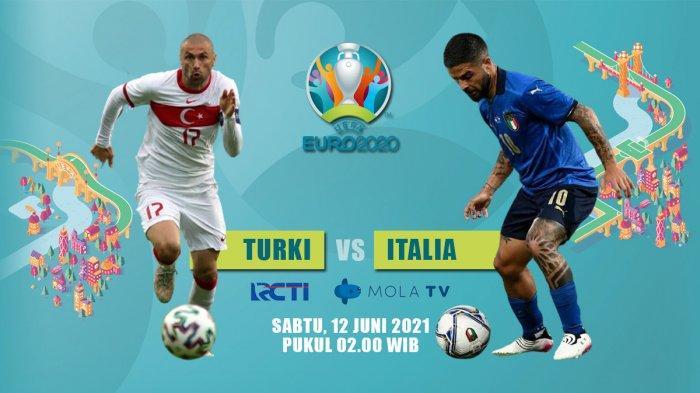 Turki vs Italia Kick Off 02.00 WIB Live RCTI, Roberto Mancini: Kami Sangat Percaya Diri