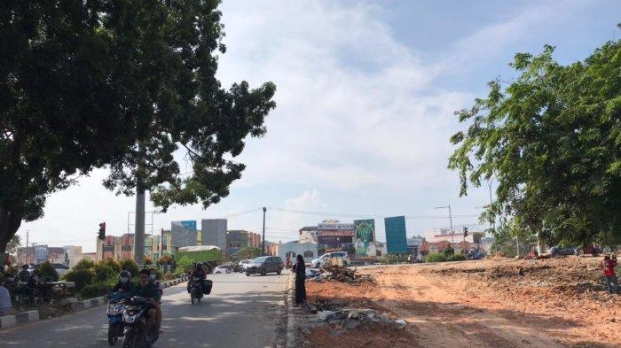 BEGINI Kondisi Terbaru Arus Lalu Lintas Simpang Trans Barelang Batam Setelah Ratusan Kios Digusur
