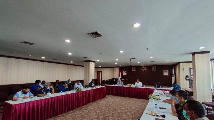 Tim 5 Temui Komisi IV DPRD Kepri Minta Kejelasan Anggaran PON dan Tagih Bonus Rp 1 Miliar