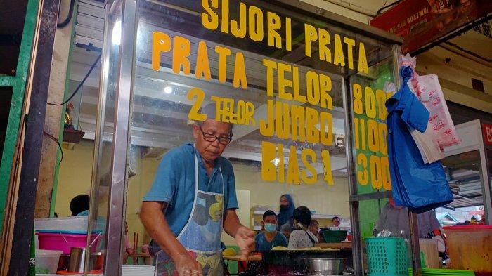 10 Tahun 'Banting' Roti di Pasar, Sapri Mampu Kuliahkan Anak di Perguruan Tinggi