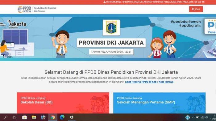 PPDB Jakarta 2020 Dibuka 11 Juni-10 Juli 2020, Cek Syarat Pendaftaran di http://ppdb.jakarta.go.id