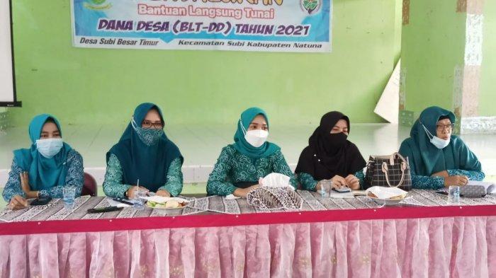 Septi Dwiani Siswandi Minta Pengurus PKK Kecamatan di Natuna Ikut Sukseskan Vaksinasi